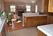 kitchen to family rm
