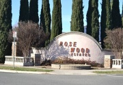Rose Wood Estates, Chico California