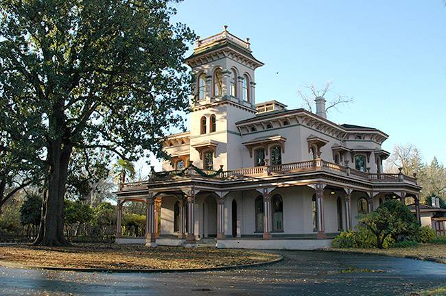 Bidwell Mansion, Chico CA